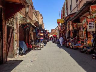 Rue d'Essaouira au Maroc