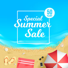 Special Summer Sale 50% Off