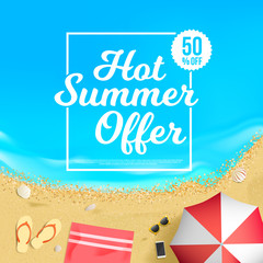 Hot Summer Offer 50% Off