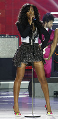 U.S singer Solange performs during World Music Awards in Monte Carlo
