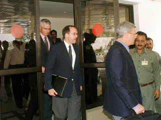 WESTERN DIPLOMATS RETURN TO ISLAMABAD FROM KABUL.