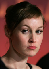Cast member actress Adelaide Leroux attends a news conference for [French director Bruno Dumont's] i..