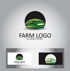 Farm Vector Logo Design