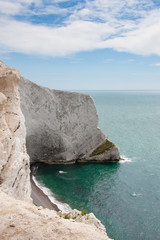 Cliffs on the Isle of Wight