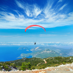 Foto op Aluminium Luchtsport Paragliding - active extreme sports
