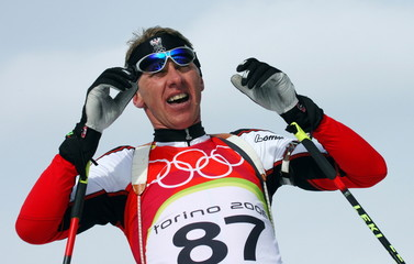 - FILE PHOTO 14FEV06 - Austria's Wolfgang Perner competes in the men's 10 km sprint biathlon event a..