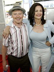 Lynda Carter and Dave Foley at the worldwide premiere of Sky High.
