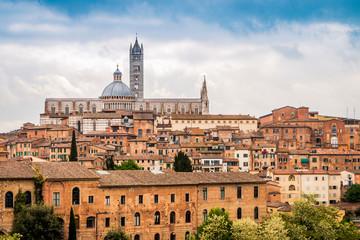 Vu sur Sienne en Toscane
