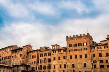 Piazza del Campo à Sienne en Toscane