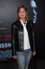 MAURA TIERNEY ARRIVES AT INSOMNIA PREMIER.