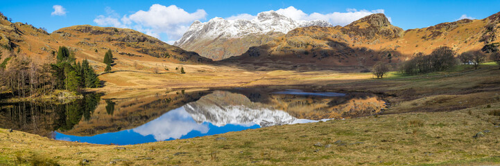 Blea Tarn Panorama - English Lake District