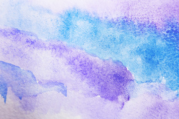 Paper with lilac abstract picture as background