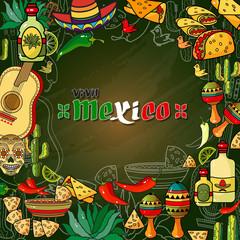 Vector illustration of Cinco ge Mayo Day.