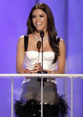 Actress Eva Longoria hosts 2006 NCLR Alma awards at Shrine auditorium in Los Angeles