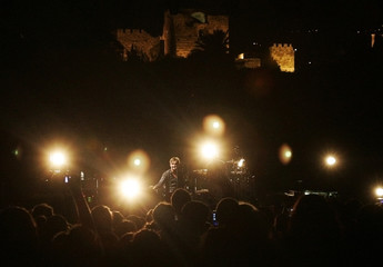 English rock band Keane perform during the annual Byblos International Festival
