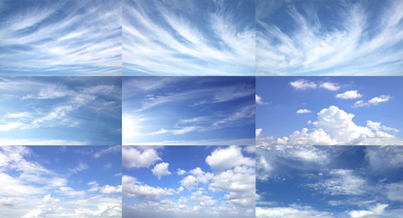 Sky abstract background