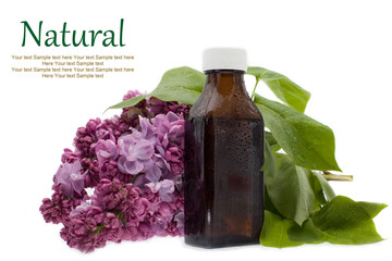 Natural essential aroma oil - medicine