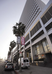 The exterior of Attorney Gloria Allred's office is pictured in Los Angeles