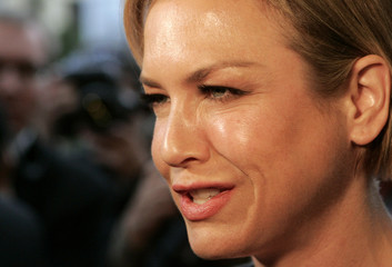 U.S. actress Renee Zellweger smiles as she arrives at the 42nd Karlovy Vary International Film Festival