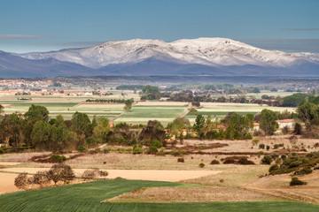 Paisaje de la Comarca de la Valdería y Monte Teleno, León.