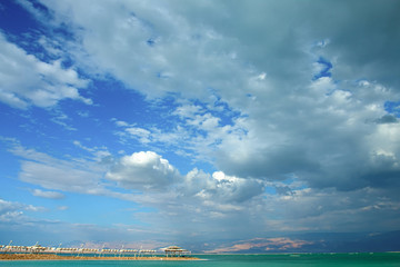 Cloud attack summery Dead Sea