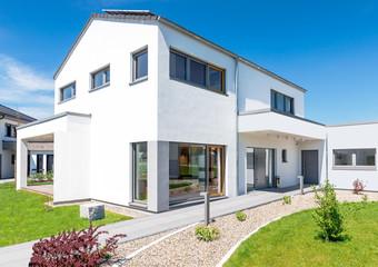 Einfamilienhaus im modernen Baustil