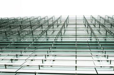 facciata edificio vetro e metallo
