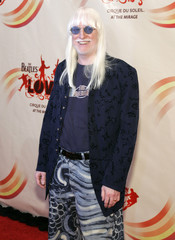 """Musician Winter, member of Ringo's All Starr Band, arrives for gala premiere of """"The Beatles LOVE by Cirque du Soleil"""" in Las Vegas"""