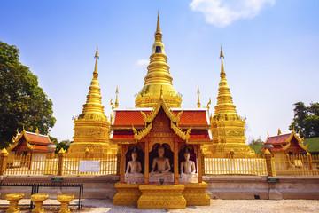 Wat Phra That Ha Duang, Lamphun Thailand