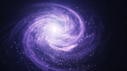 Spiral Galaxy - Elements of This Image Furnished by NASA