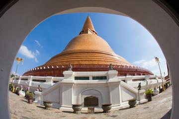 Phra Pathommachedi or Phra Pathom Chedi  is a stupa in Nakhon Pathom, Thailand.