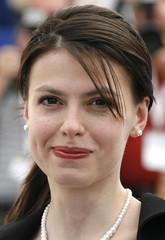 Cast member Laura Vasiliu poses during photocall at 60th Cannes Film Festival