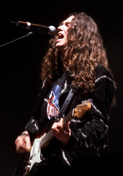 SINGER SAUL HERNANDEZ OF THE GROUP JAGUARES PERFORMS IN MEXICO CITY.