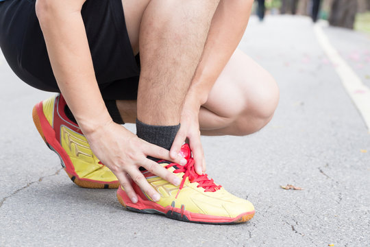 Achilles tendinitis, Sport injury concept