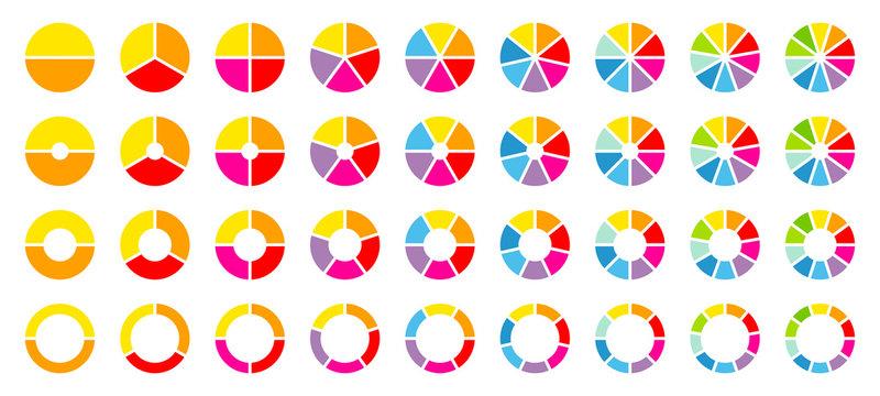 Set Pie Charts Color