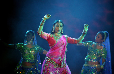Bollywood actress Mukherjee performs in New Delhi