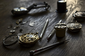 Watchmaker's workshop