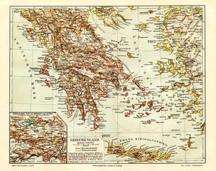 Greece (from Meyers Lexikon, 1895, 7/944/945)