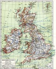 United Kingdom (from Meyers Lexikon, 1895, 7/1028/1029)