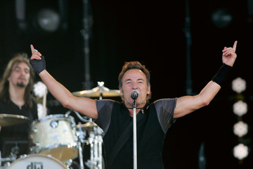 U.S rock legend Bruce Springsteen performs at the Pinkpop Festival in Landgraaf, the Netherlands