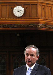 Canada's Justice Minister Nicholson speaks in the House of Commons on Parliament Hill in Ottawa