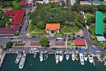 Banyan Tree & Old Court House - Lahaina Harbor - Island of Maui, Hawaii