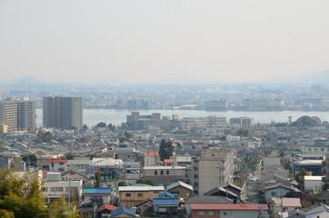 茶臼山公園からの眺め