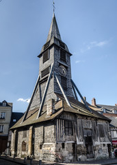 Catherine Church in Honfleur, old wooden church