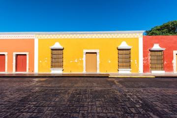 Fototapete - Colorful Campeche, Mexico