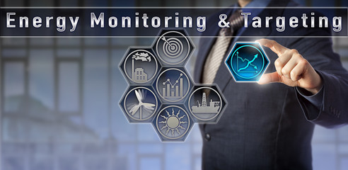 Manager observing Energy Monitoring & Targeting