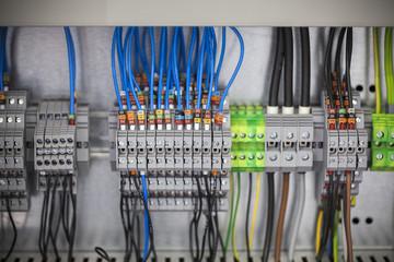 control panel, cable assemblies