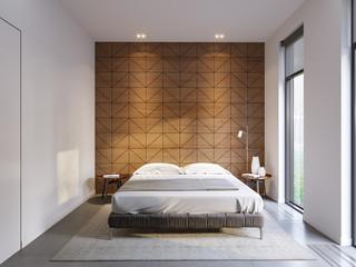 Urban Contemporary Modern Minimalism High-tech Bedroom