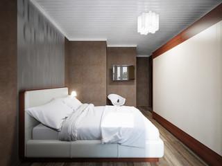 Urban Contemporary Modern Small Bedroom Interior Design