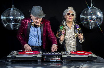 dj grandma and grandpa